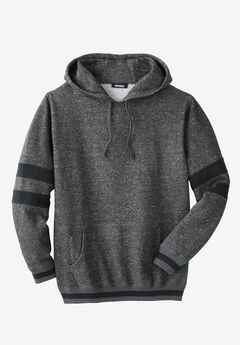 KingSize Coaches Collection Colorblocked Pullover Hoodie,
