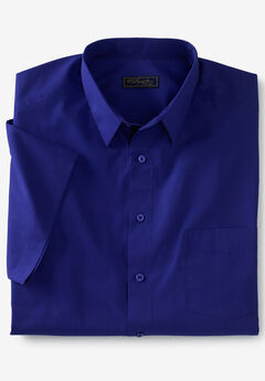 No Hassle® Short-Sleeve Dress Shirt by KS Signature®,