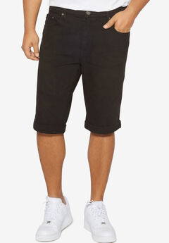 Distressed Denim Shorts,