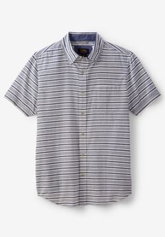 Short-Sleeve Button-Down Woven Shirt by Lee®,