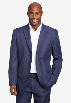 Easy Movement® Three-Button Jacket by KS Signature, NEW NAVY PINDOT