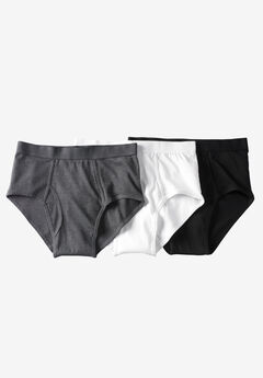 Classic Briefs 3-Pack, ASSORTED BASIC