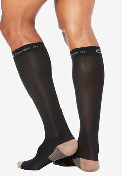 Copper Fit™ Energy Compression Socks, BLACK