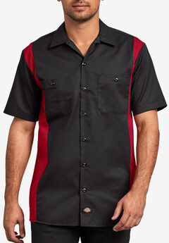Two-Tone Short-Sleeve Work Shirt by Dickies®,