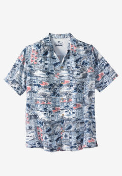 Americana Rayon Shirt by Liberty Blues®,
