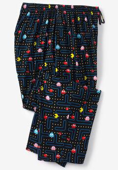 Licensed Novelty Pajama Pants, PAC MAN BOARD
