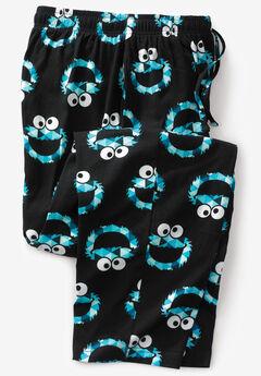 Licensed Novelty Pajama Pants, COOKIE MONSTER