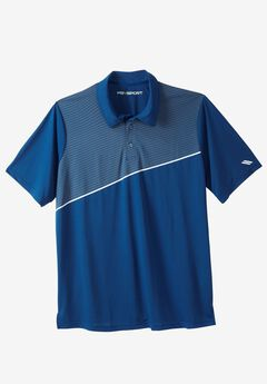 Performance Polo by KS Sport™, MIDNIGHT NAVY