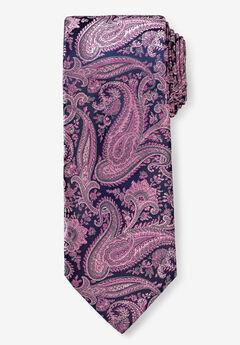 KS Signature Extra Long Classic Paisley Tie,