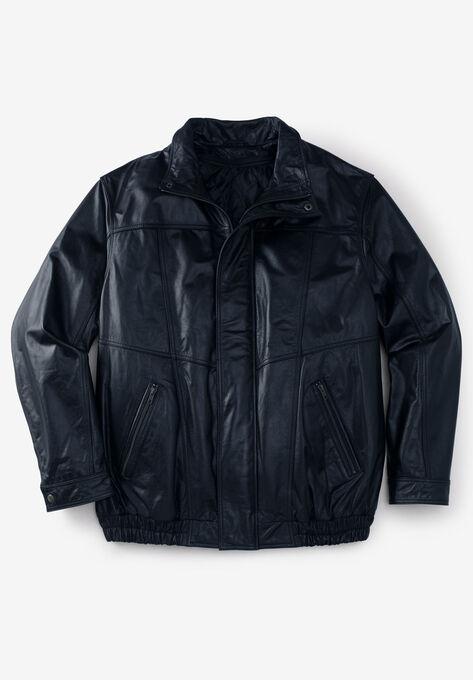 dc6ef0474 Leather Bomber Jacket