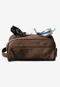 Travel Shaving Bag, BROWN