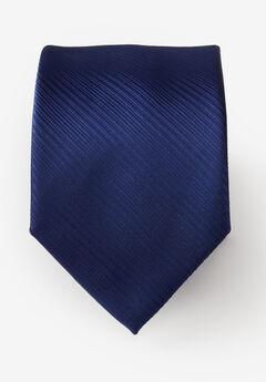 Classic Textured Tie, NAVY