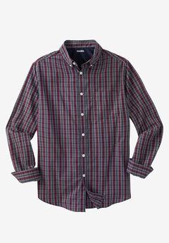 Wrinkle-Resistant Plaid Shirt,