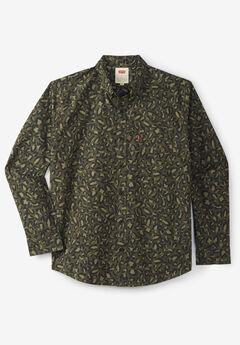 Levi's® Long-Sleeve Poplin Shirt, OLIVE NIGHT