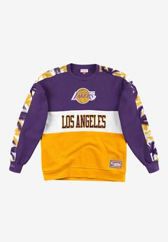 Mitchell & Ness® Hardwood Classics Leading Scorer Fleece Pullover Sweatshirt,