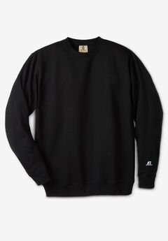 Long-Sleeve Fleece Crewneck Sweatshirt,