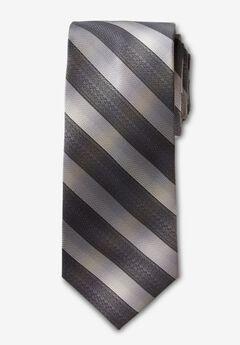 Classic Stripe Tie, DARK GREY STRIPE