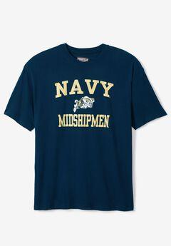 NCAA Short-Sleeve Team T-Shirt, NAVY