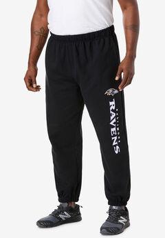 NFL® Critical Victory Elastic Cuff Sweatpants, BALTIMORE RAVENS