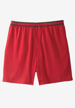 Performance Flex Boxers , TRUE RED