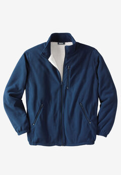 Explorer Fleece Sherpa Jacket, NAVY