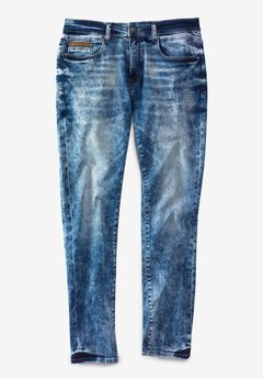 Rocawear® Down 5-Pocket Jeans,