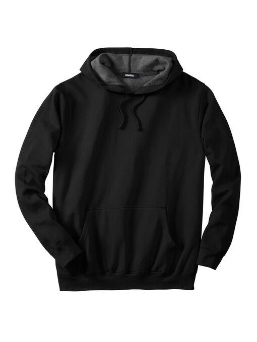 1ffd97b53a Fleece Pullover Hoodie  Big and Tall Hoodies & Sweatshirts   King Size
