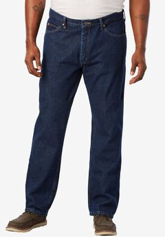 Straight Leg Regular Fit Jeans by Lee®, DARK STONE