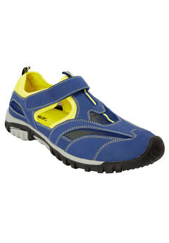 Sport Sandal , MIDNIGHT NAVY NEON YELLOW