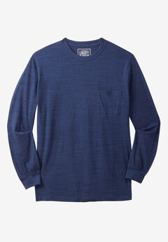 Liberty Blues® Crewneck Long-Sleeve T-Shirt,