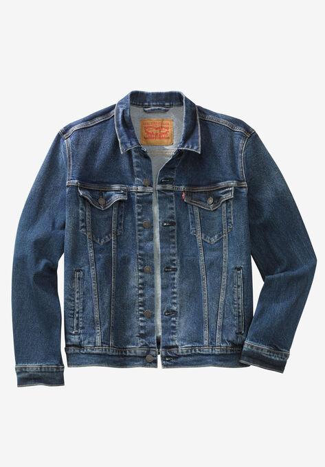 Denim Trucker Jacket By Levi S