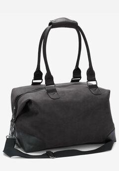 Oversized Weekender Bag, BLACK