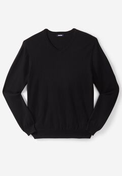 Pima V-Neck Sweater,