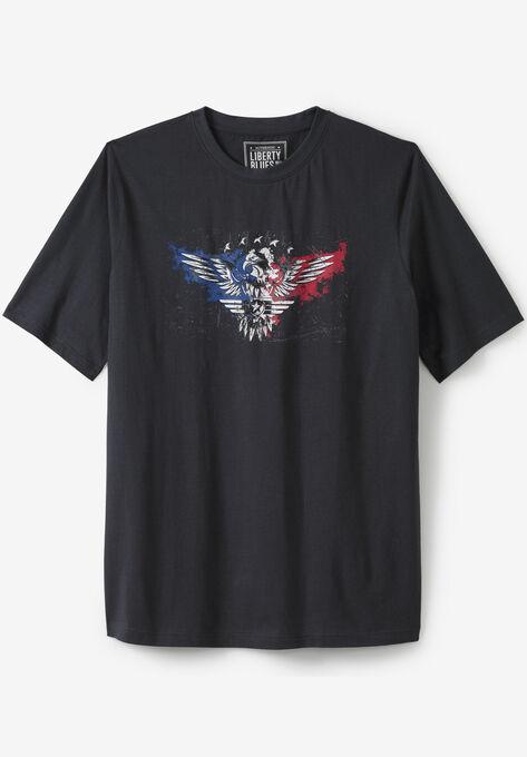 13c6a4dc8 Liberty Blues® Americana Screen Tee| Big and Tall All T-Shirts ...
