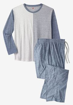 Hanes® Heather Pajama Set,