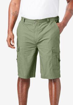 """10"""" Cargo Shorts, SAFARI GREEN"""