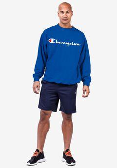 Champion® Pullover Script Logo Sweatshirt,