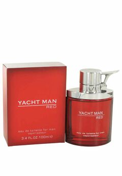 Yacht Man Red 3.4 oz. Eau de Toilette by Myrurgia,