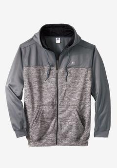 Poly Fleece Full-Zip Hoodie by Russell Athletic®,