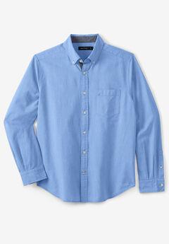 Nautica® Stretch Oxford Shirt, FRENCH BLUE