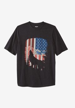 Liberty Blues® Americana Graphic Tee, WOLF