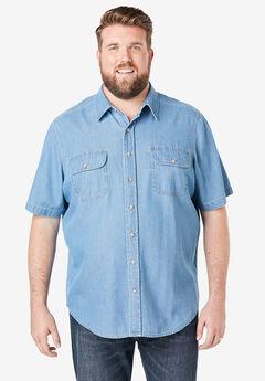 Boulder Creek by Kingsize Mens Big /& Tall Removable Hood Shirt Jacket