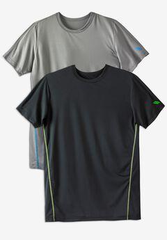 KS Sport™ Performance Crewneck Undershirt 2-Pack,