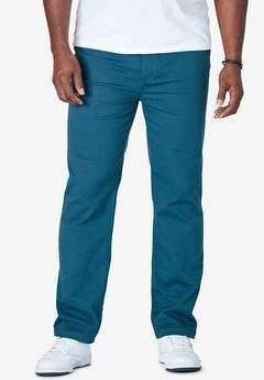 Liberty Blues™ Relaxed Fit 5-Pocket Stretch Jeans,
