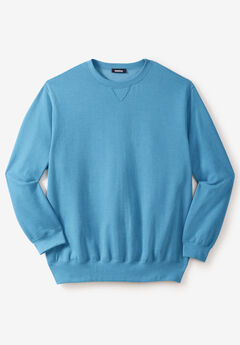 Fleece Crewneck Sweatshirt,