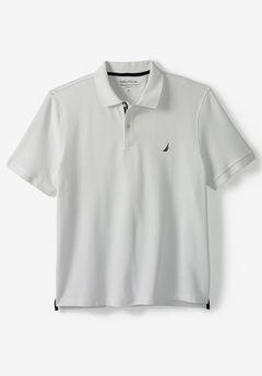 Nautica® Performance Piqué Polo Shirt, BRIGHT WHITE