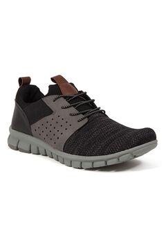 Deer Stags® NoSoX® Betts Flexible Sole Bungee Lace Slip-On Oxford Sneaker Hybrid,