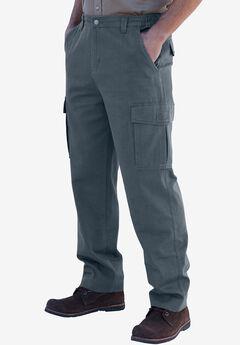 Boulder Creek® Side-Elastic Waist Cargo Pants, CARBON