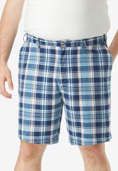 Nautica® Stretch Twill Deck Shorts, BLUE MADRAS