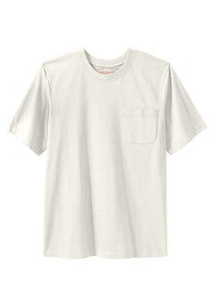 Boulder Creek® Heavyweight Crewneck Pocket T-Shirt, STONE